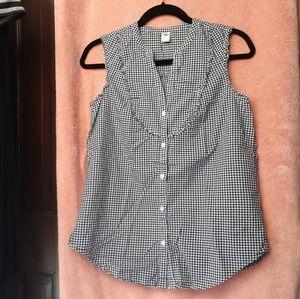 Old Navy Women's Button-Down Sleeveless Top